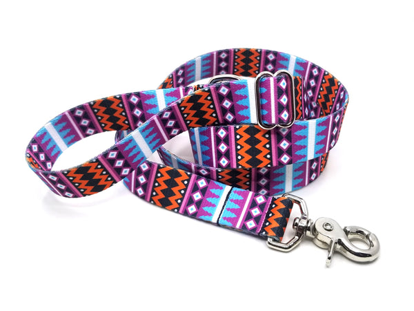 Santa Fe Polyester Adjustable Handle Leash