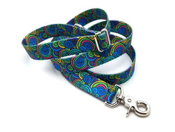 Scribble Swirls Adjustable Handle Leash