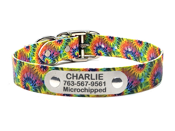 Tie Dye Classic Waterproof Collar