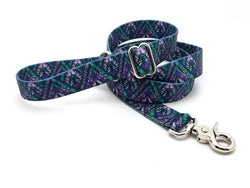Tribal Chevron Adjustable Handle Leash
