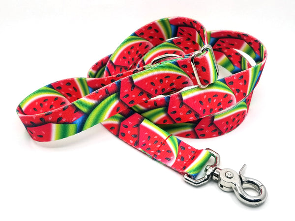 Summer Melon Polyester Adjustable Handle Leash