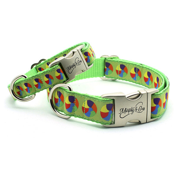 At The Beach Designer Dog Collar – Flying Dog Collars