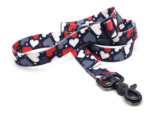 Be Mine Polyester Webbing Adjustable Handle Leash