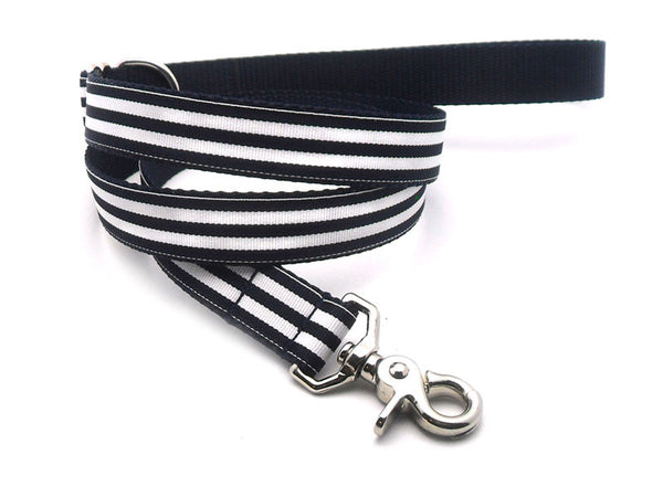 Cabana Stripe Dog Leash - Flying Dog Collars