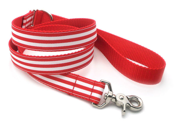 Cabana Stripe Dog Leash – Flying Dog Collars