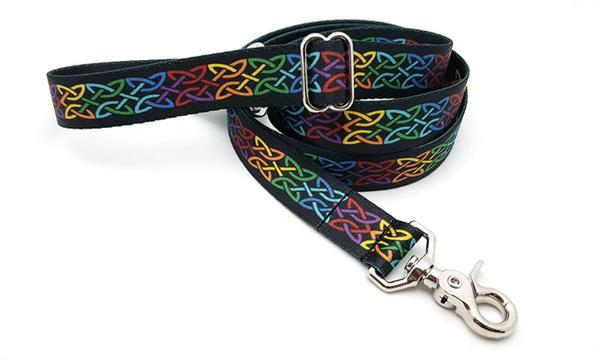 Celtic Pride Polyester Adjustable Handle Leash