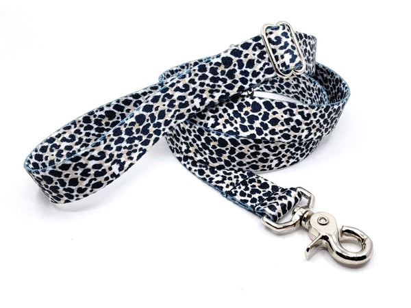 Cheetah Polyester Webbing Adjustable Handle Leash