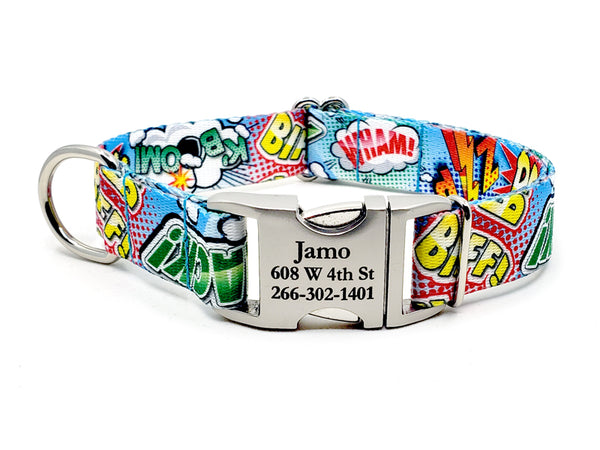 COMIC POP | DOG COLLAR