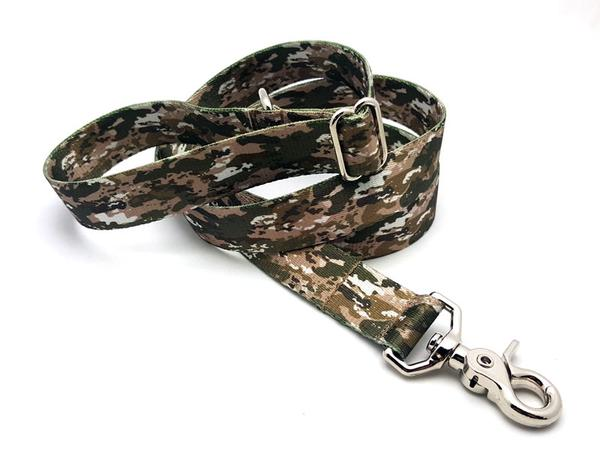 Desert Viper Camo Polyester Adjustable Handle Leash