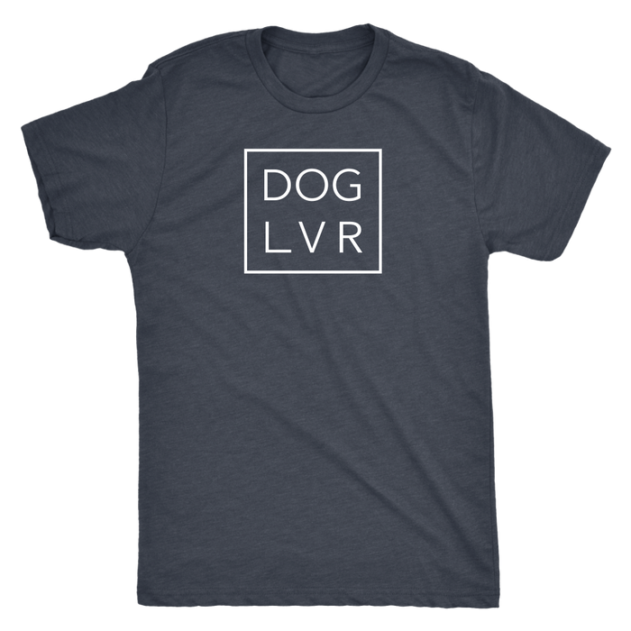 DOG LVR MENS TRIBLEND TEE - Flying Dog Collars