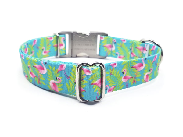 FLAMINGOS | DOG COLLAR