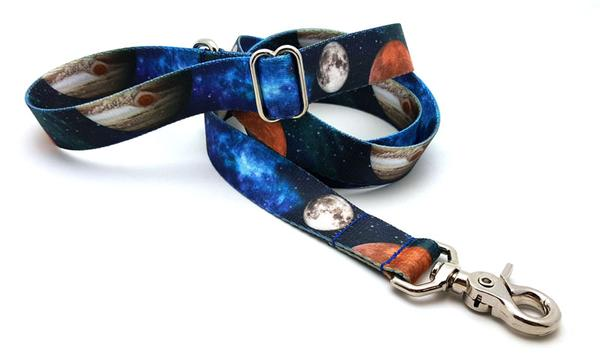 Galactica Polyester Adjustable Handle Leash