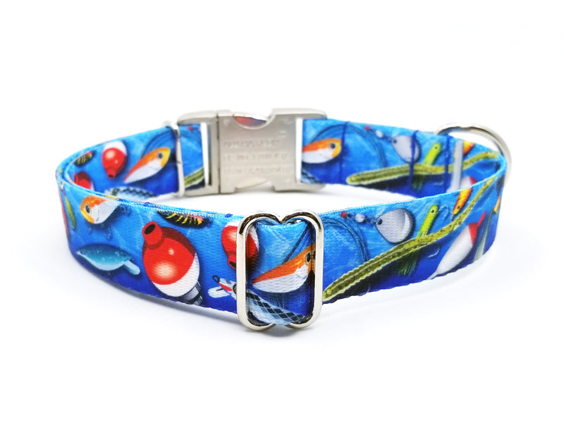GONE FISHIN' | DOG COLLAR