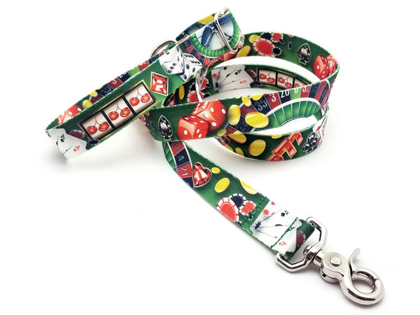 High Roller Polyester Adjustable Handle Leash
