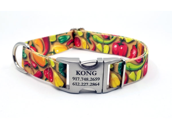 HOT PEPPERS | DOG COLLAR