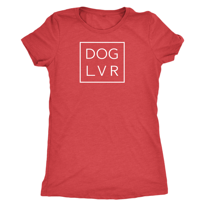 DOG LVR LADIES TRIBLEND TEE