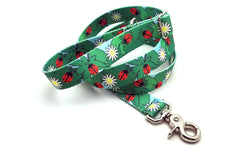 Ladybugs & Daisies Polyester Adjustable Handle Leash