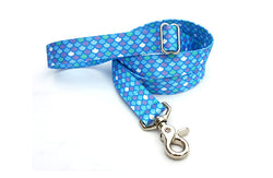 Mermaid Scales Polyester Adjustable Handle Leash