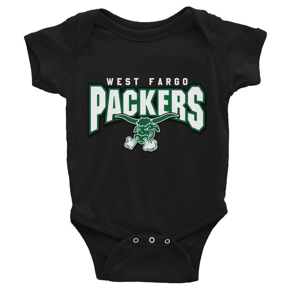 West Fargo Packers Infant Short Sleeve Onsies