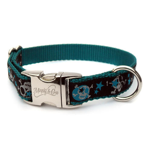 Stars & Skulls Designer Dog Collar - Flying Dog Collars