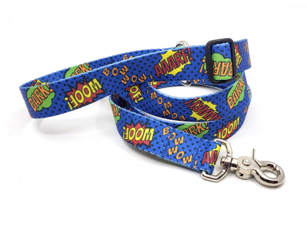 Super Dog Polyester Webbing Adjustable Handle Leash