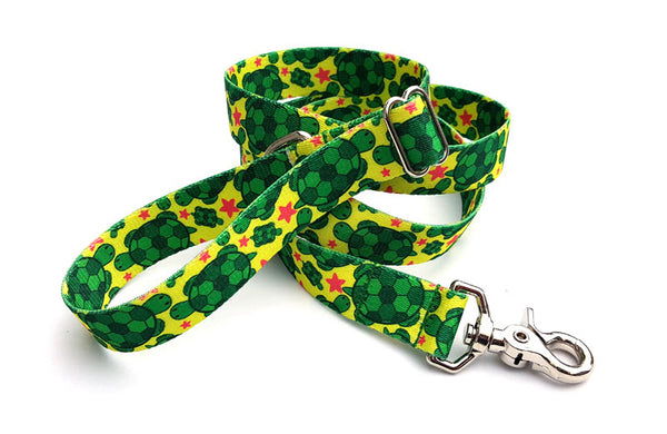 Turtles Adjustable Handle Leash