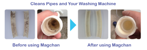 Mg-based laundry keeps pipes clean