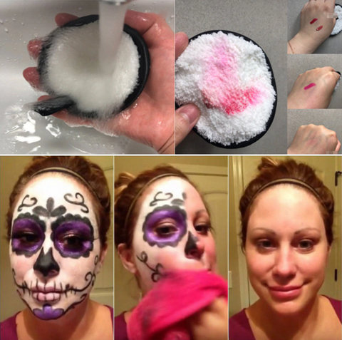 Human - Makeup Remover Cleansing Puffs