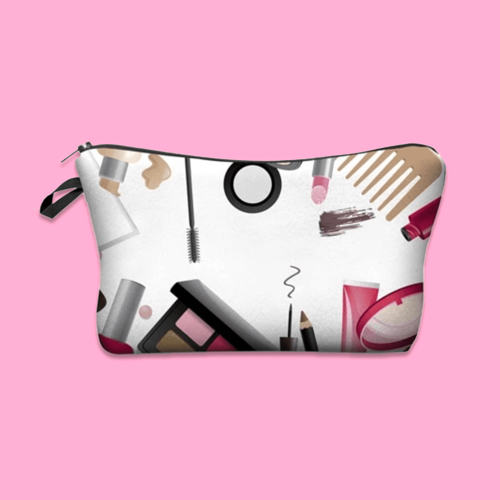 Makeup Print Cosmetic Bag