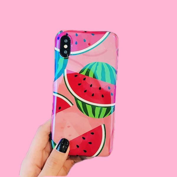 Lush Cove Juicy Watermelon iPhone Case - LushCove