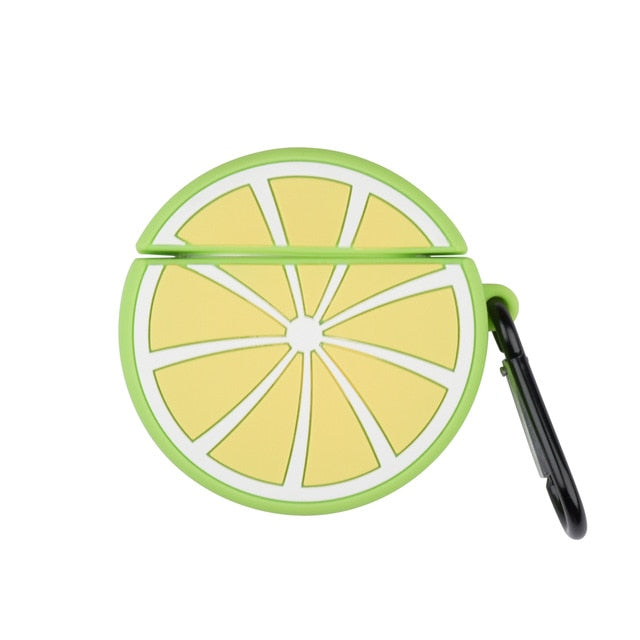 Lemon Lime AirPod Case