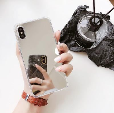 lushcove - Plated Mirror iPhone Case