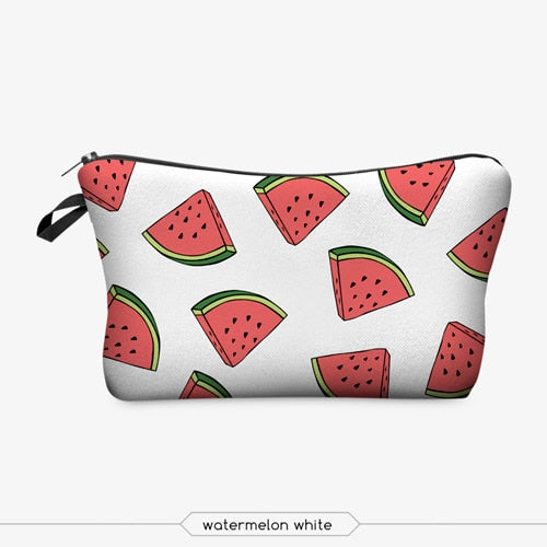 Signature LushCove Print Cosmetic Bag
