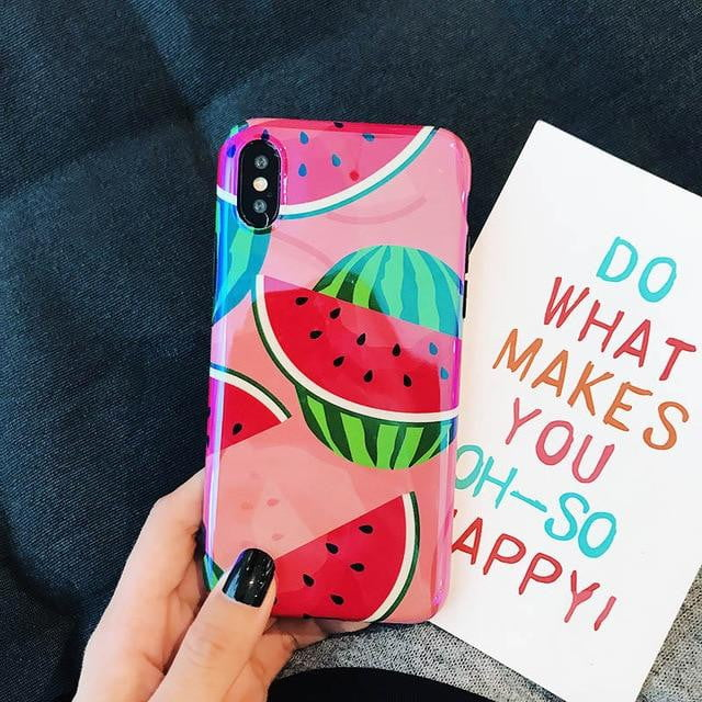 lushcove - Juicy Watermelon iPhone Case