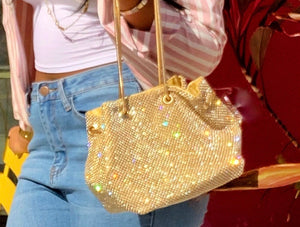 Golden Lavish Bag