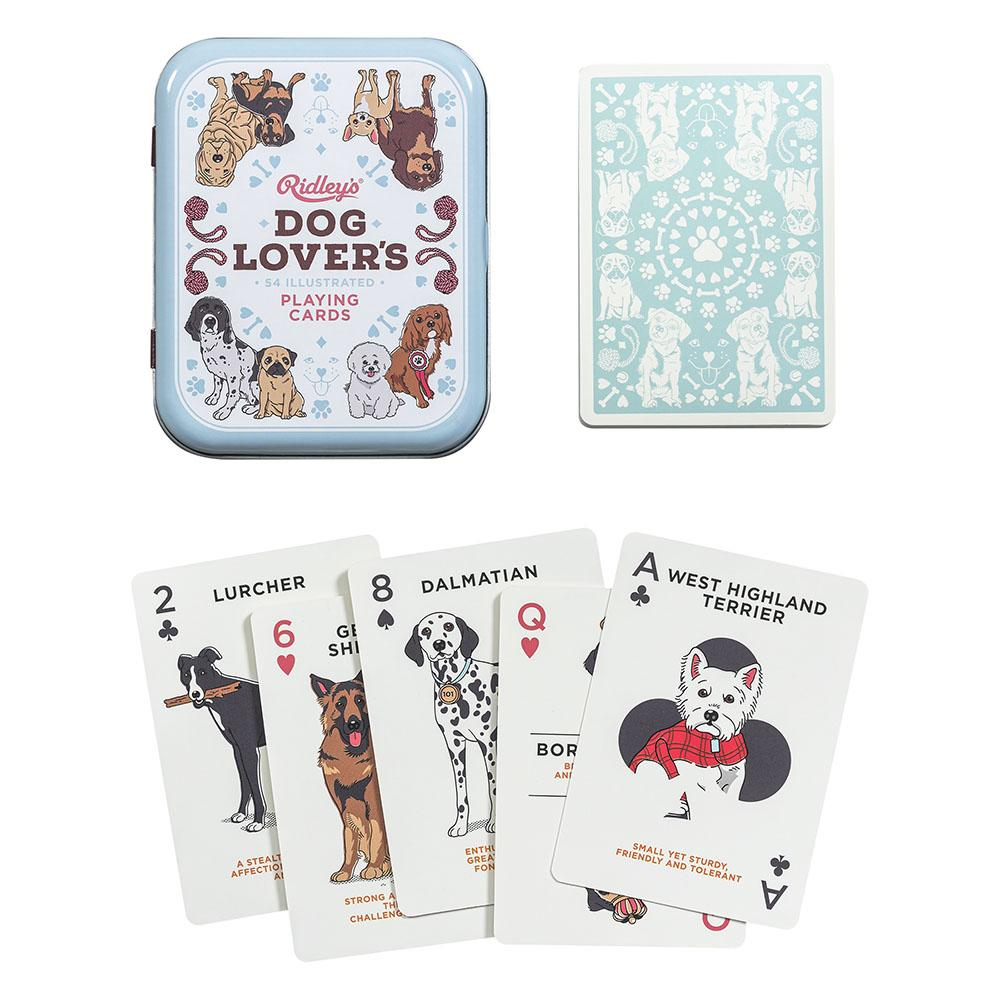 Ridley's Dog Lover's Playing Cards