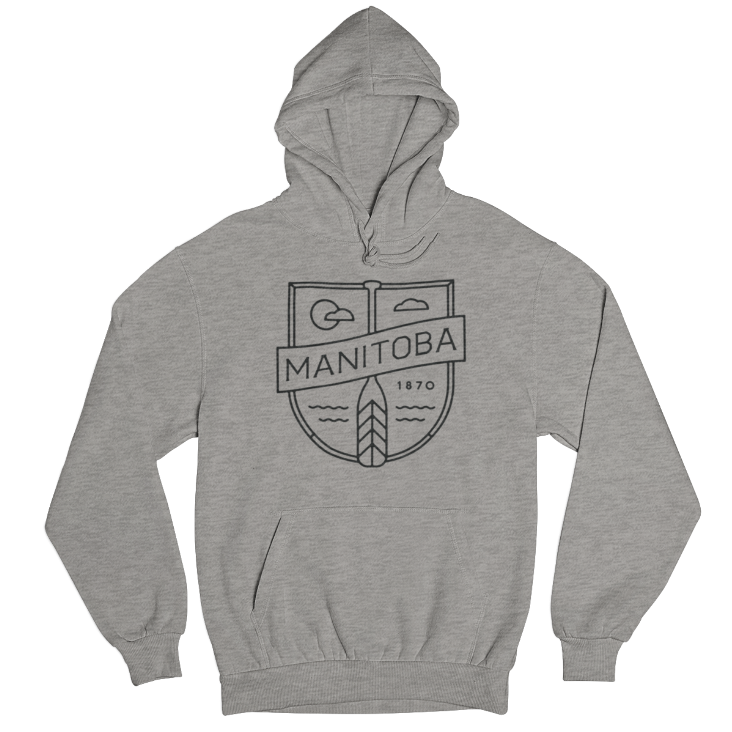 We Heart Winnipeg Manitoba Cottage Hoodie
