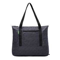 Travelon Clean Antimicrobial Packable Tote Dark Grey Large Front View