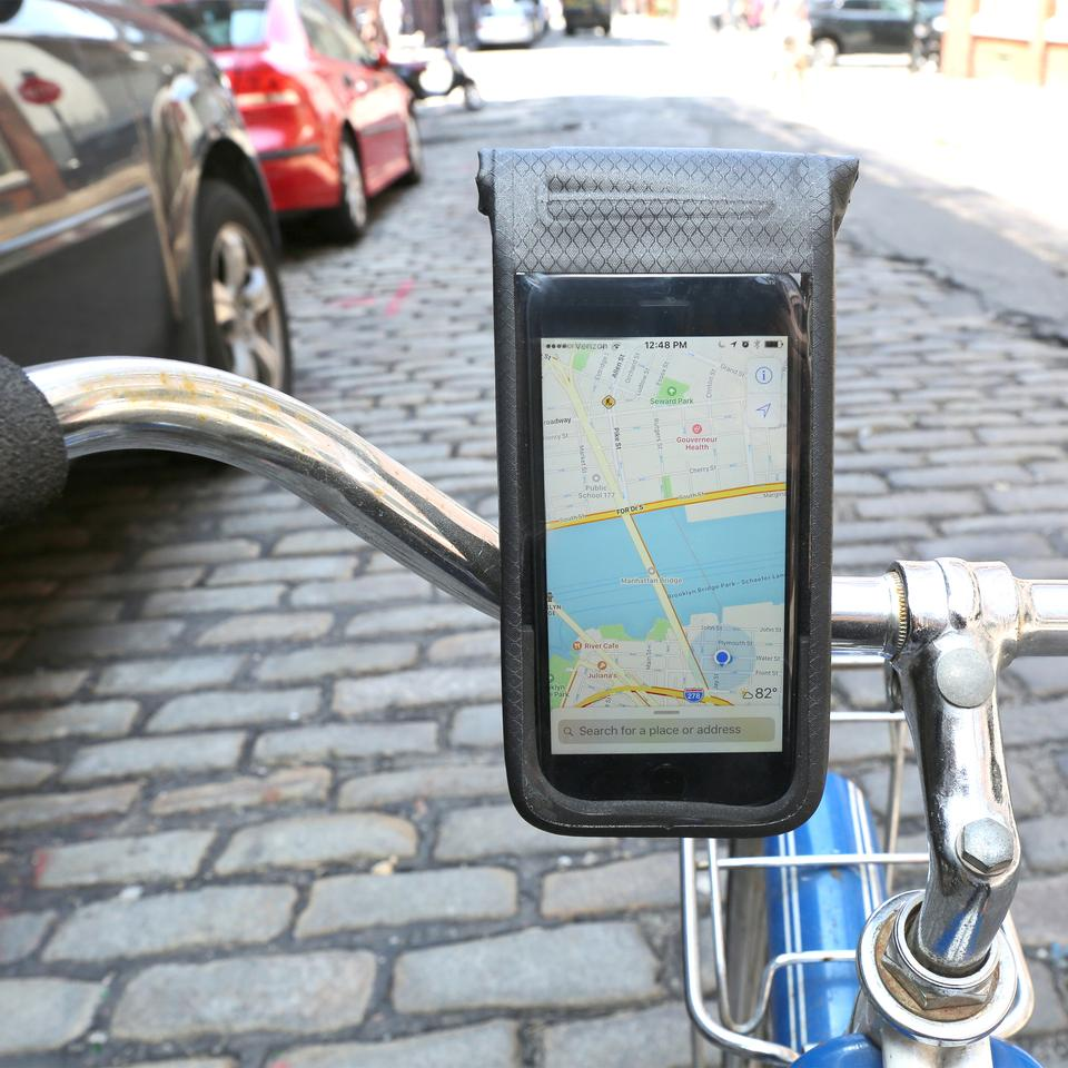 Kikkerland All-Weather Bike Phone Mount