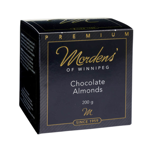 Morden's of Winnipeg Chocolate Covered Almonds