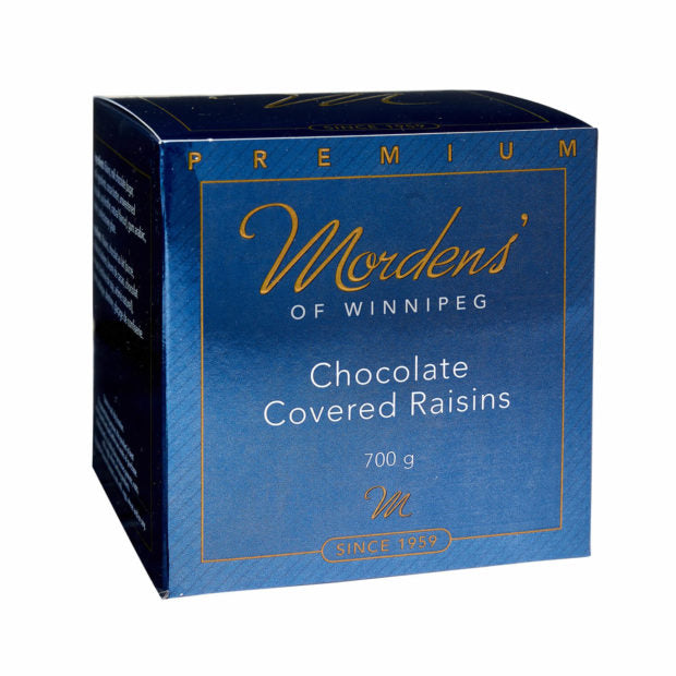 Morden's of Winnipeg Chocolate Covered Raisins