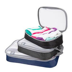 Set of 3 Light weight packing organizers