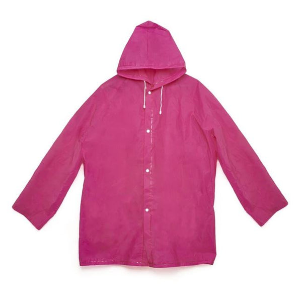 Kikkerland Packable Rain Coat