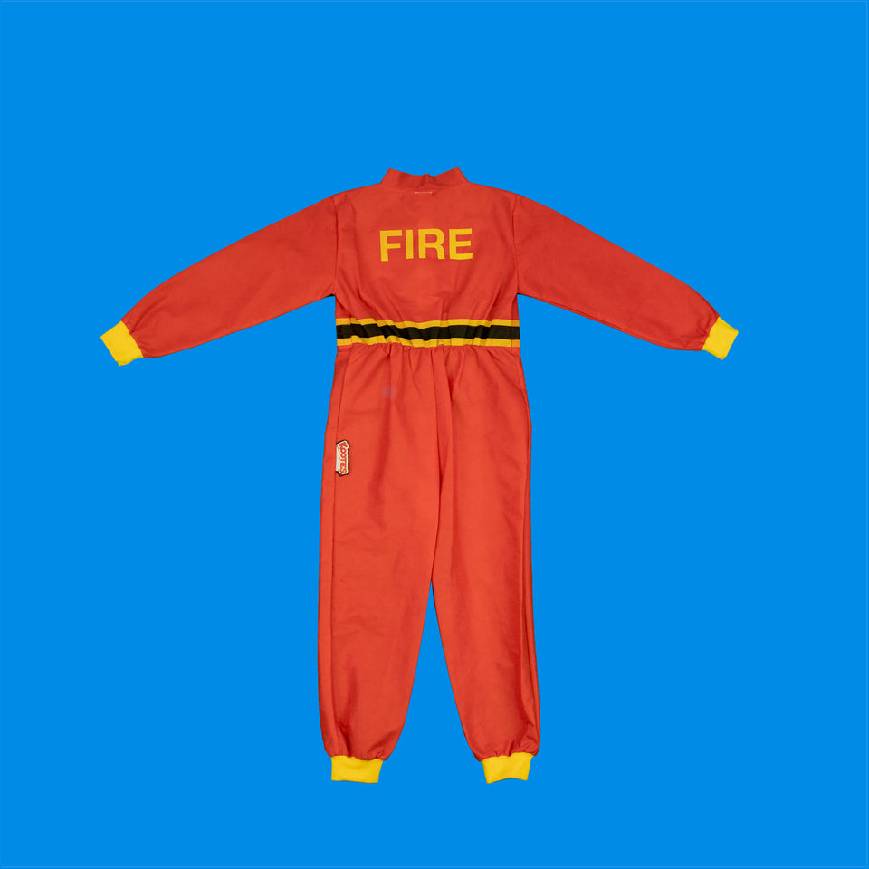 Party Pack of 8 Fire Fighter Coveralls