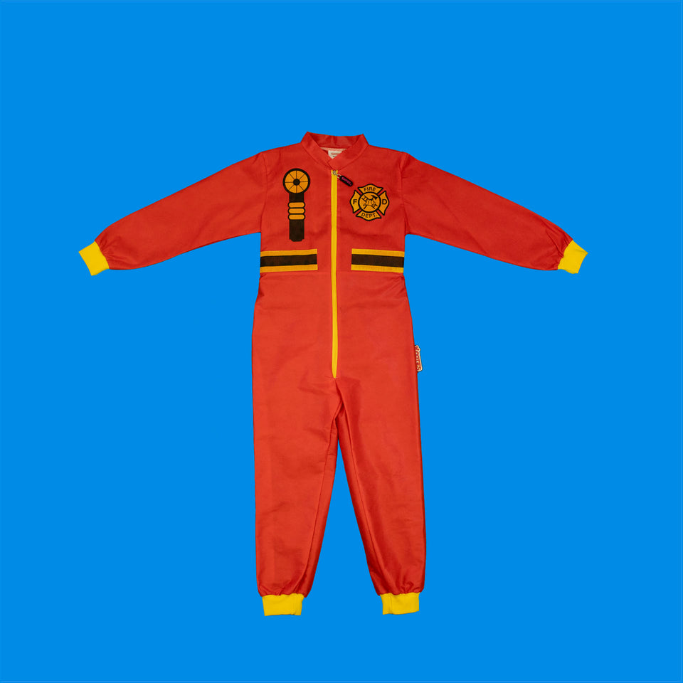 Party Pack of 4 Fire Fighter Coveralls