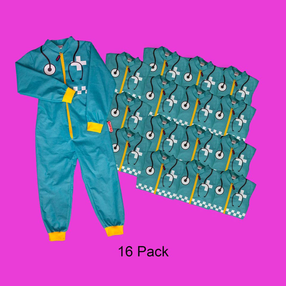 Party Pack of 16 Paramedic Coveralls