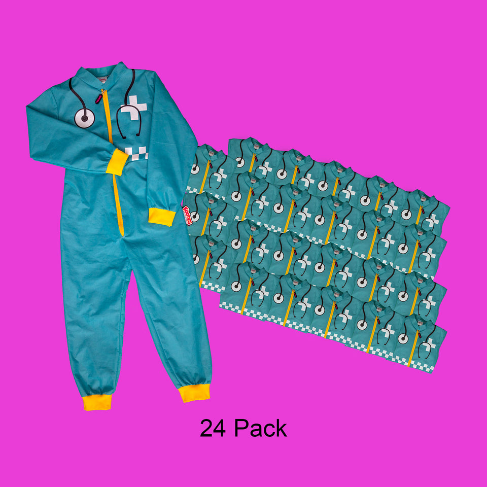 Party Pack of 24 Paramedic Coveralls
