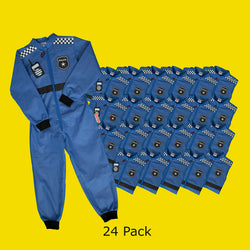 Police Officer Coverall x 24