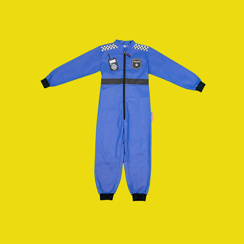 Police Officer Coverall x 8
