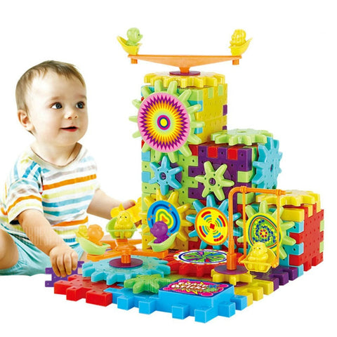 New Changeable Educational Dynamoelectric Building Block - FREE SHIPPING